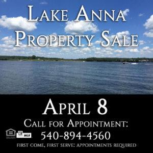 Lake Anna Property Sale
